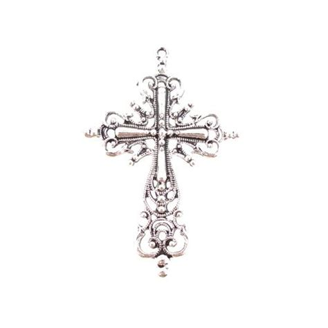 fancy cross tattoos cross fancy large cross pendant jpg