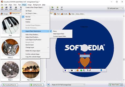 cd label maker software free download download acoustica cd dvd label maker 3 40