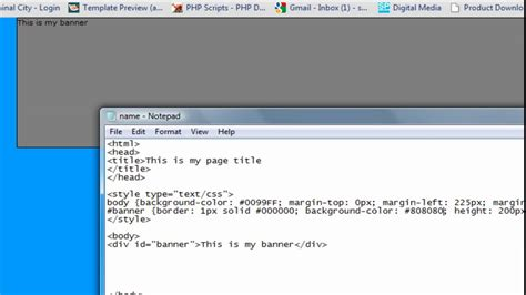 website tutorial youtube html css website tutorial youtube