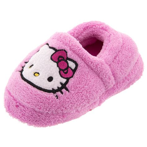 pink fuzzy slippers hello pink fuzzy slippers for toddler