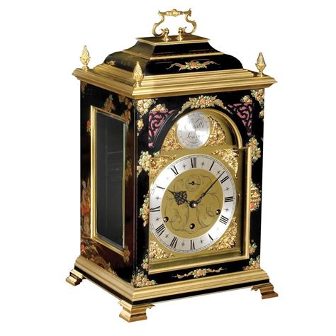 empress chinoiserie table clock mantel desk clocks