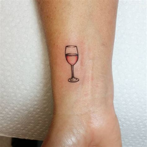 glasses tattoo 11 wine tattoos that ll make you wind with a glass