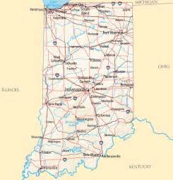 Indiana State Map by Indiana Map Map Of Indiana
