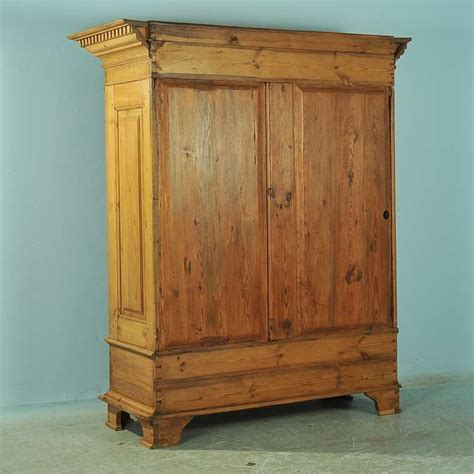 antique large pine armoire louis xvi circa 1790 1820 at