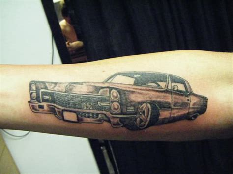vehicle tattoo designs car tattoos