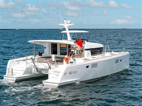 catamaran ocean cruiser lagoon 40 motor yacht sea magazine