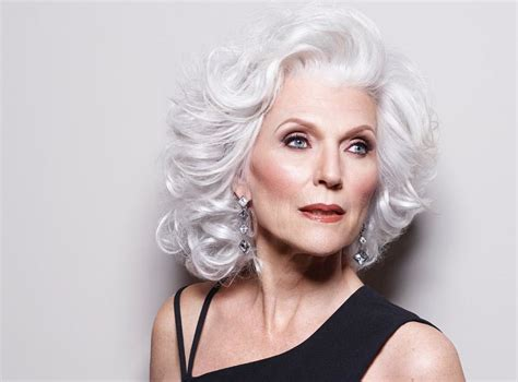 hair styles for 69 year old women maye musk current photos grey is the new sexy