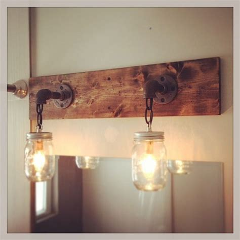 mason jar bathroom light fixture rustic industrial modern mason jar lights vanity light