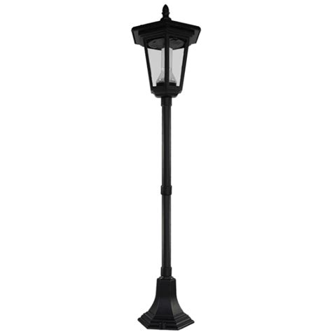 Patio Pole Lights Pl04 Solar 2 Led Mini L Post Light