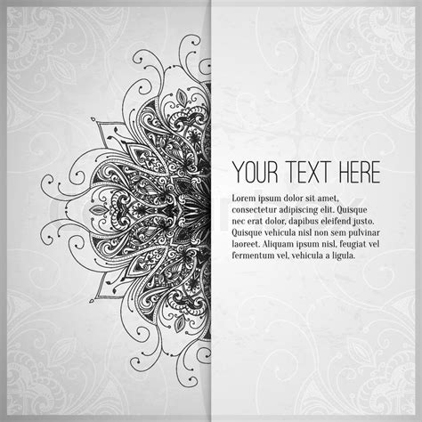 silver layout vector vintage vector pattern hand drawn abstract background