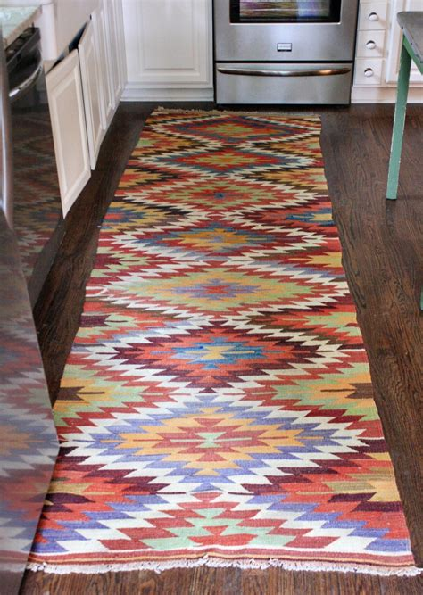 Kilim Kitchen Rug M Dorsey Designs Q A Lindsay The White Buffalo Styling Co