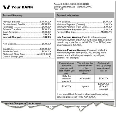 credit card billing statement template february 2014 rizalplanner