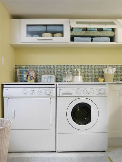Small Laundry Room Decorating Ideas 20 Laundry Room Ideas With Small Space Solutions