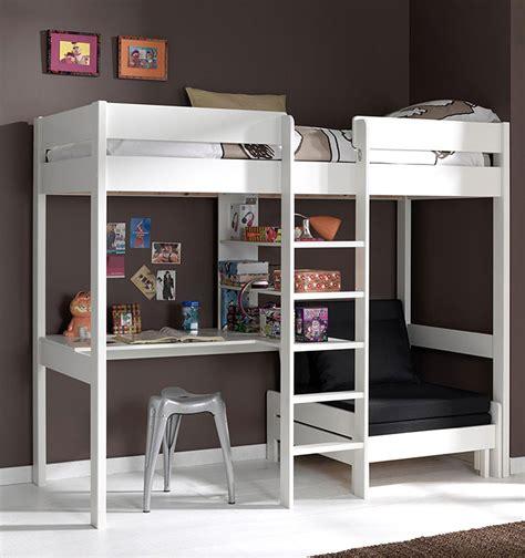 letto soppalco con scrivania letti a soppalco per bambini originali e divertenti