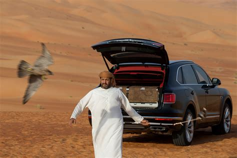 bentayga mulliner bentley bentayga swoops in with falconry makeover by