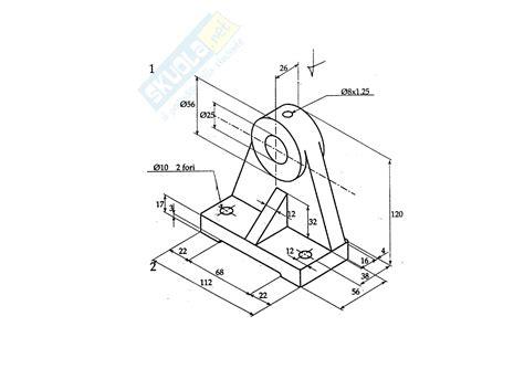 tavole disegno meccanico esercizi esercitazione di disegno tecnico industriale