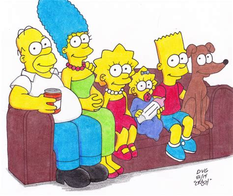 simpsons all couch gags couch gag simpsons by crash2014 on deviantart