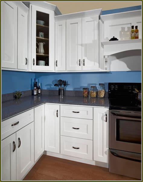 Your home improvements refference white kitchen cabinets handles