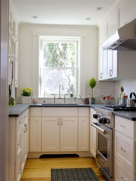 ideas for galley kitchen makeover refresheddesigns making a small galley kitchen work