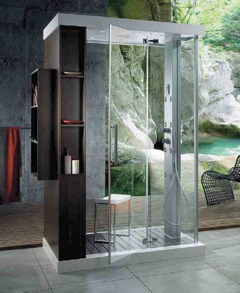 furniture fashionanthropos steam shower cabin by glass