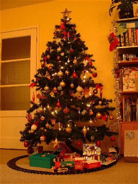 tren para arbol de navidad arbol y tren de navidad fotos de navidad