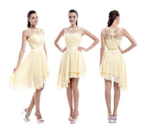 Bridesmaid Dresses Asymmetrical Hem - daffodil bridesmaid dress sweetheart asymmetrical hem