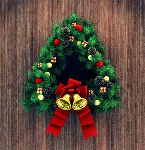 3d christmas door decorations 20 3d models decorations and characters