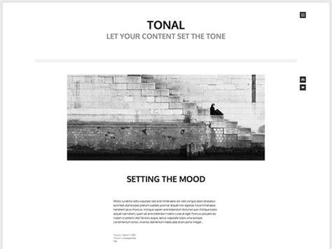 10 Free Ultra Minimalist Wordpress Themes Wordpress Tavern Minimalist Website Template