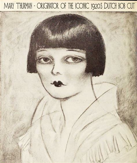 The Dutch Bob Cut ? Origin of an iconic 1920s Hairstyle   Glamourdaze