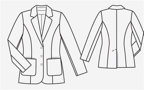 drawing jacket pattern 20 best images about disegno tecnico giacche on pinterest