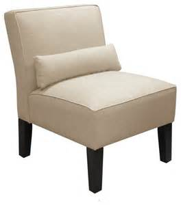 custom upholstered armless chair traditional
