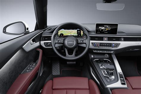 audi convertible interior 2017 audi a5 and s5 cabriolet unveiled forcegt com