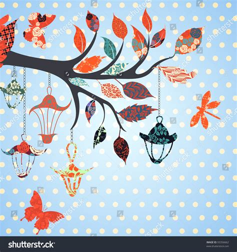 a few scraps leafy branches all over free motion quilting scrap booking background of tree branch with leaves and