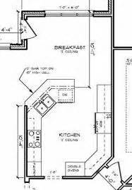 peninsula kitchen floor plan 38 best kitchen floor plans images on pinterest