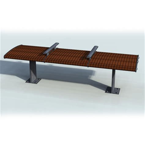 ipe bench streamline ipe bench 3d model formfonts 3d models textures
