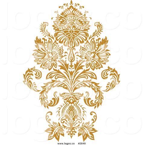 design gold free royalty free damask design stock logo designs