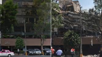 nytimes mexico city mexico city before and after the earthquake the new