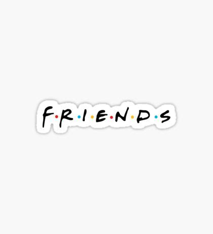 And Friends Stickers