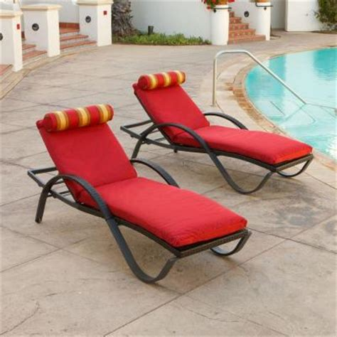 rst brands deco patio chaise lounge with cantina