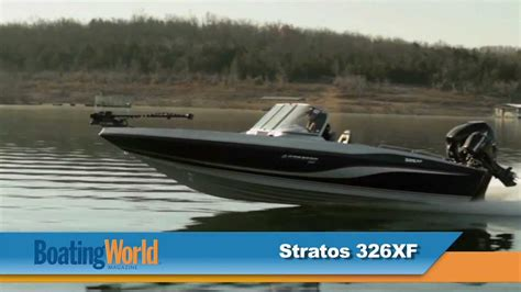 stratos boats 326 xf stratos 326 xf youtube