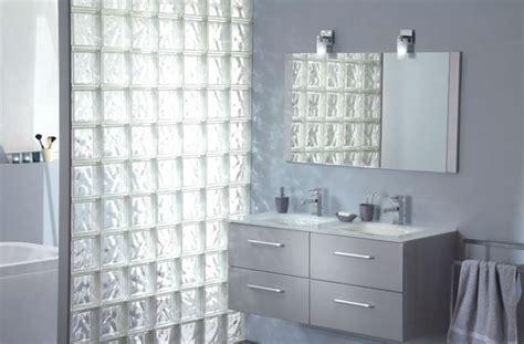 doccia con vetrocemento parete in vetrocemento per doccia come costruirla