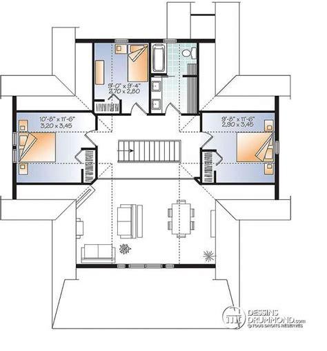 plan maison 騁age 4 chambres les 25 meilleures id 233 es concernant plan maison 4 chambres