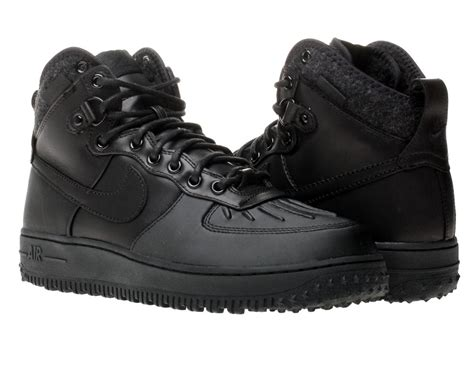 Boot One nike air 1 duckboot duck boot 444745 002 black water resistant warm ebay