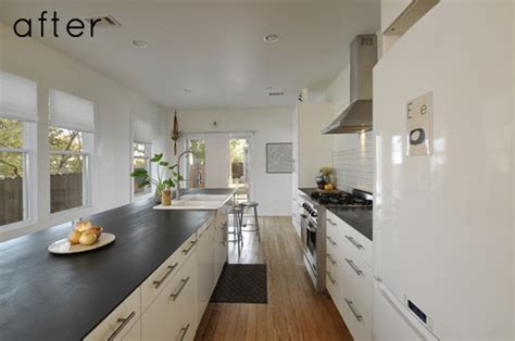 Sacramento Kitchen Cabinets by Before Amp After Modern Bungalow Renovation Design Sponge