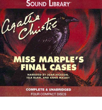 miss marples final cases b0046re5fy miss marple s final cases agatha christie 9780792776758