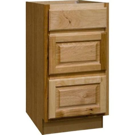 home depot hickory base cabinets hton bay 18x34 5x24 in hton base cabinet