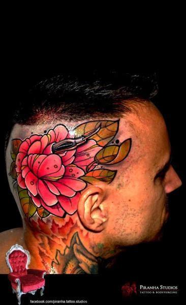 new school tattoo needles new school flower head tattoo by piranha tattoo supplies