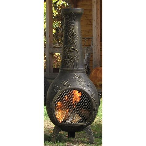cast aluminum used cast aluminum chiminea