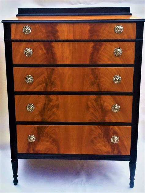 Antique Dresser Drawers by Crotch Mahogany Chest Of Drawers Antique Dresser