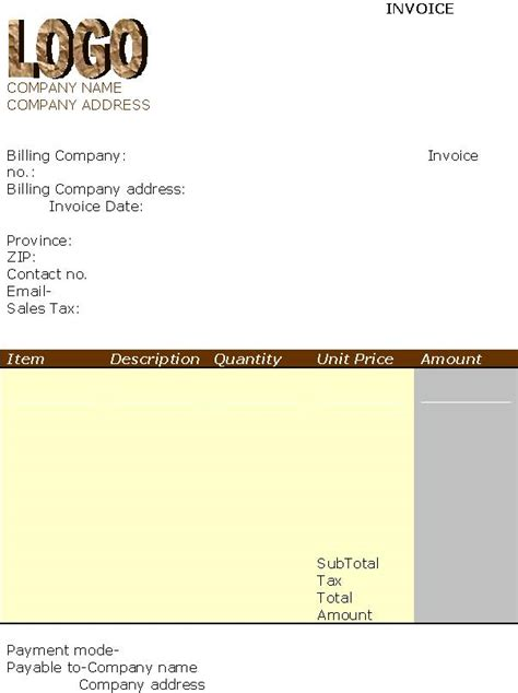 free invoice template with logo invoices template out of darkness